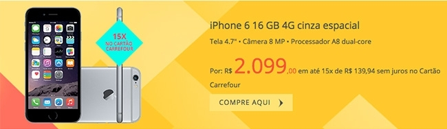 iPhone 6 16GB 4G